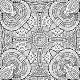 Mano étnica de la naturaleza decorativa abstracta del vector Fotografía de archivo