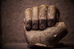 Mano antica del marmo di età immagine stock libera da diritti