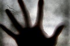 Mano asustadiza Foto de archivo libre de regalías