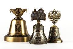 Mano Bell El recuerdo traído del otro país Fotografía de archivo libre de regalías