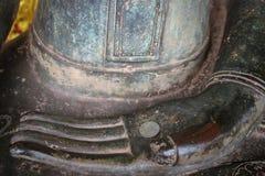 Mano Buda en el templo Laos Imagen de archivo