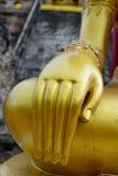 Mano budista de la estatua Imagen de archivo libre de regalías