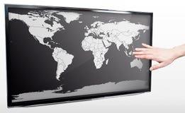 Mappa di mondo bianco e nero stock images 708 photos for Mappa mondo bianco e nero
