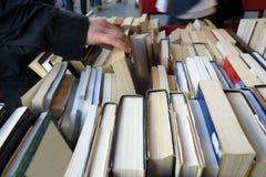 Vecchia libreria Fotografie Stock Libere da Diritti