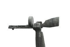Mano che tiene una mitragliatrice PPSh Fotografie Stock Libere da Diritti