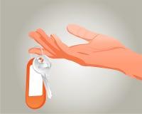 Mano con clave libre illustration