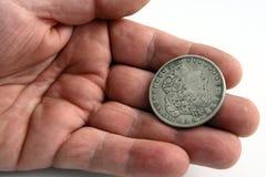 Mano con el dólar Foto de archivo libre de regalías