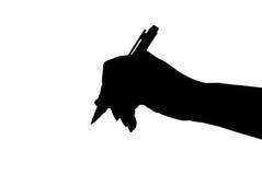 Mano con la penna royalty illustrazione gratis
