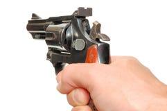 Mano con la pistola Fotografie Stock