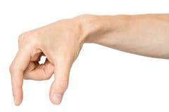 Mano con los dedos Imagenes de archivo