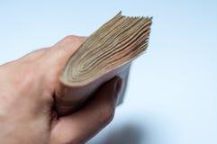Mano con soldi Immagine Stock Libera da Diritti