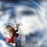 Mano d'offerta del bambino fotografie stock