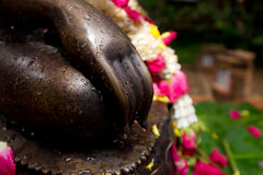 Mano de Buda Foto de archivo libre de regalías