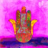 Mano de Fátima Imagen de archivo libre de regalías