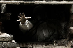Mano de la oscuridad Imagen de archivo libre de regalías