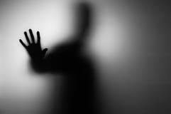 Mano de los fantasmas imagen de archivo libre de regalías