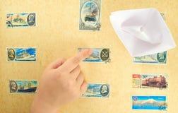 Mano de un niño Imágenes de archivo libres de regalías