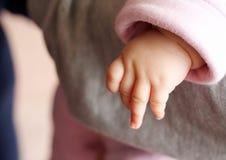 Mano del bambino Fotografia Stock