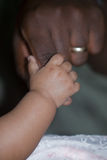 Mano del bebé Fotos de archivo libres de regalías