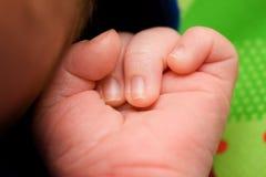 Mano del bebé Imagen de archivo libre de regalías