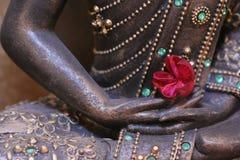 mano del buddha s Fotografie Stock Libere da Diritti