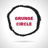 Mano del Grunge dibujada alrededor de marco libre illustration