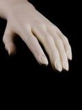 Mano del maniquí Imagen de archivo
