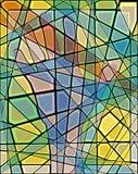 Mano del mosaico Fotos de archivo