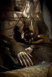 Mano del `s de Buddha Fotos de archivo