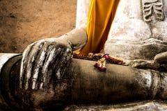 Mano dell'immagine del Buddha Immagine Stock Libera da Diritti