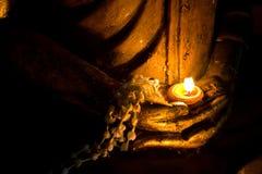 Mano dell'immagine di Buddha Fotografie Stock