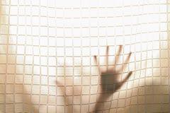 Mano dell'ombra fuori Fotografia Stock Libera da Diritti