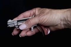 Mano della pistola Immagini Stock Libere da Diritti