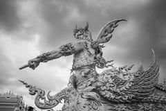 Mano 3 della statua Immagini Stock