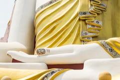 Mano della statua del Buddha Immagine Stock Libera da Diritti