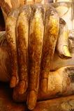 Mano della statua di Buddha Fotografia Stock Libera da Diritti