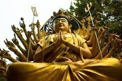 Mano di Budha 1000 Fotografia Stock