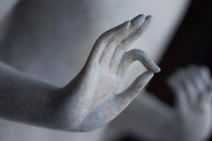 Mano di Budha Immagine Stock