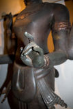 Mano di Dio nel museo di Sukhothai Fotografia Stock Libera da Diritti