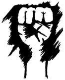 Mano di rivoluzione Fotografia Stock Libera da Diritti