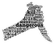 Mano di uccisione Fotografia Stock Libera da Diritti