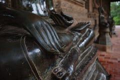 Mano di un'immagine di Buddha fotografia stock libera da diritti