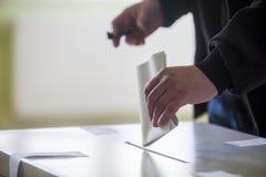 Mano di voto Immagine Stock Libera da Diritti