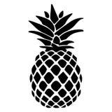 Mano dibujada, vector, EPS, logotipo, icono, crafteroks, ejemplo del vector EPS de la pi?a de la silueta para diversas aplicacion stock de ilustración