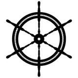 Mano dibujada, vector, EPS, logotipo, icono, ejemplo del vector EPS de la rueda de la nave de la silueta por los crafteroks para  libre illustration