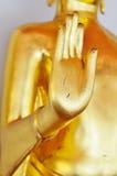 Mano dorata di Dio (Buddha dorato) Fotografie Stock Libere da Diritti