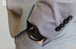 Mano en el bolsillo Imagen de archivo