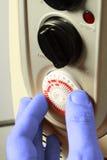 Mano fría A del calentador del ajuste Imagen de archivo