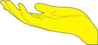 Mano humana ilustración del vector