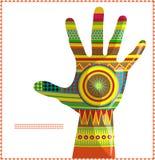 Mano marroquí A stock de ilustración